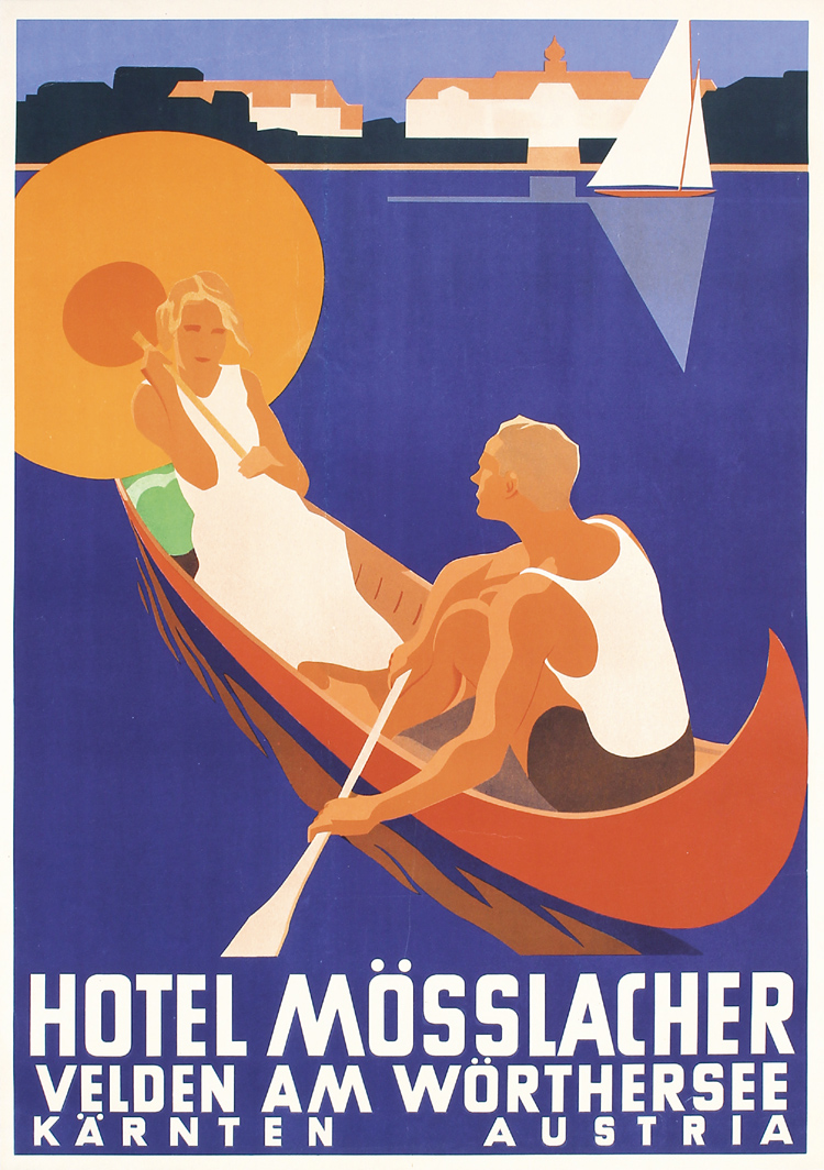 Austrian Travel Poster, Ca. 1930