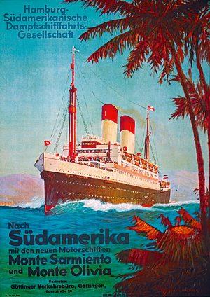 Hamburg-Süd – Nach Südamerika