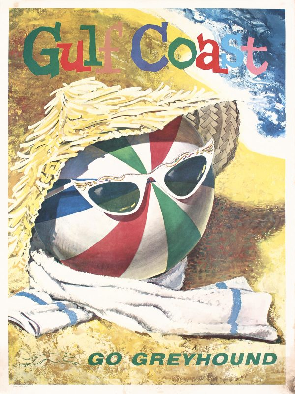 Greyhound - Gulf Coast Ca. 1960