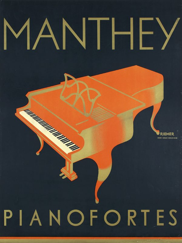 Manthey Pianofortes, 1920s