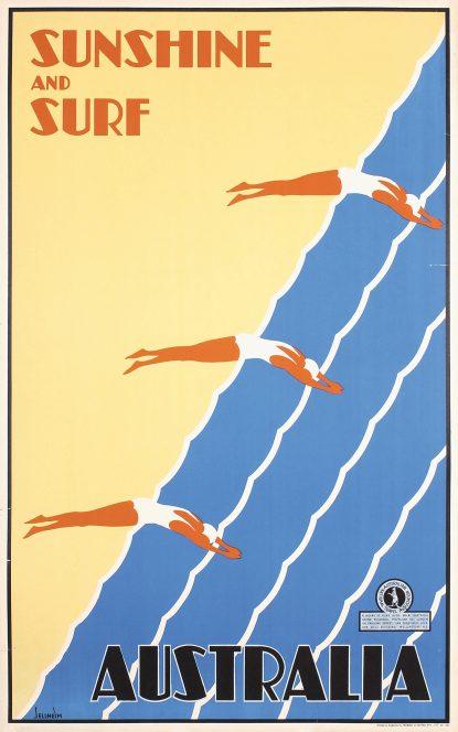 Australia - Sunshine And Surf, 1935