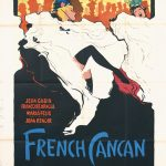 French Can Can By Gruau, 1955