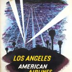 American Airlines - Los Angeles, Vca. 1950
