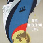 Royal Interocean Lines, Ca. 1954