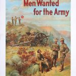 Men Wanted For The Army, 1909