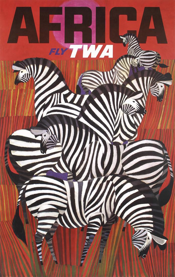 TWA Africa By David Klein