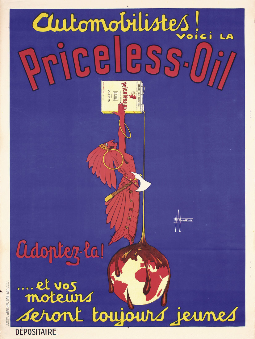 Priceless Oil From The October 20, 2018 Auction