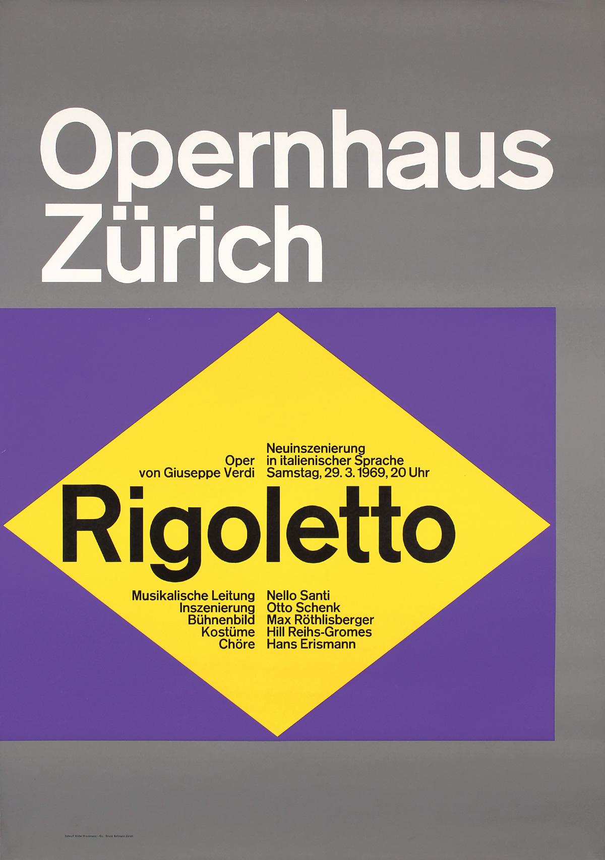 Opernhaus Zürich – Rigoletto