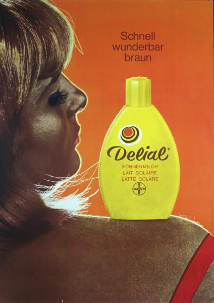 Delial Suncreen, 1960s