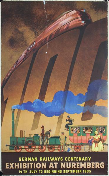 Nuremberg Rail, 1935