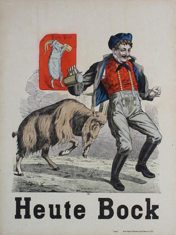 Bock Beer, 1890