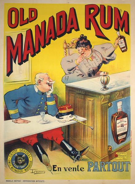 Manada Rum, 1890s