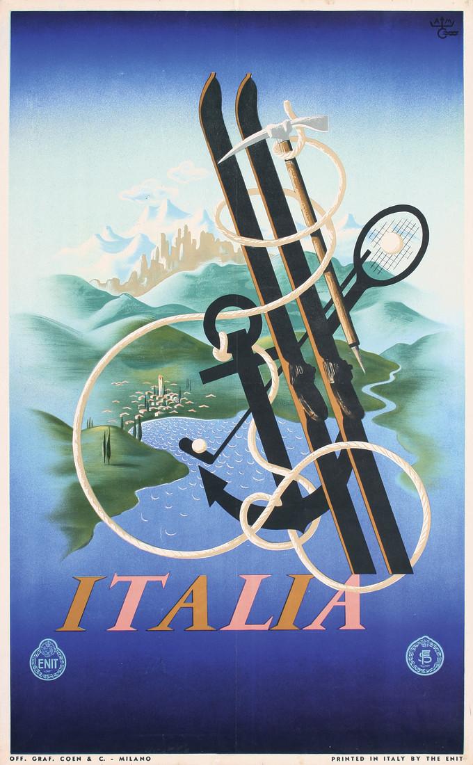 Cassandre, Italia, 1936