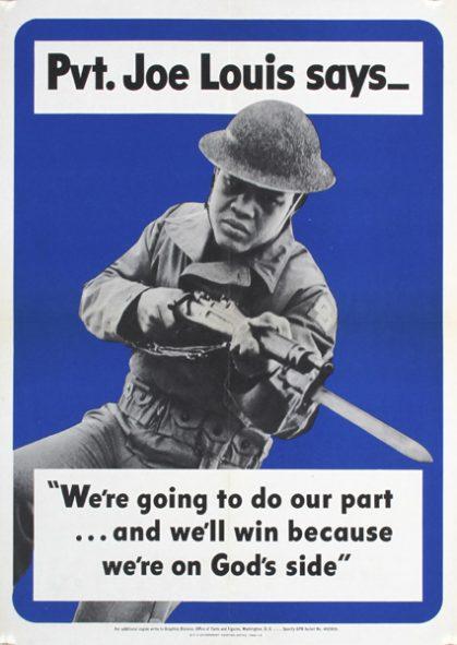Pvt. Joe Louis Says, 1942